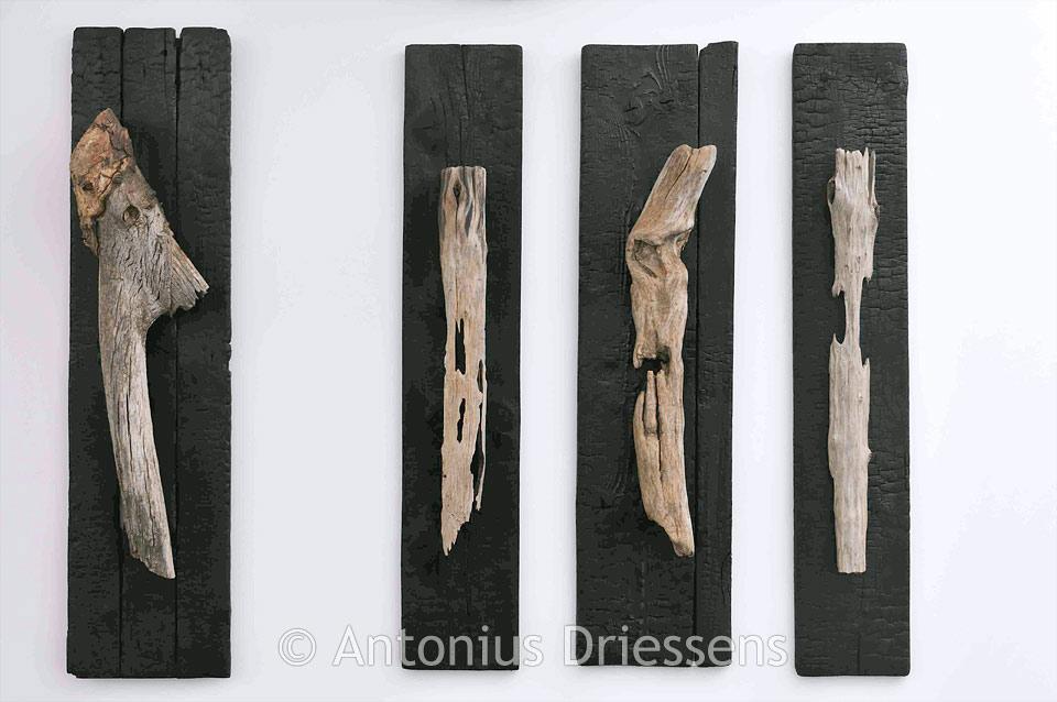 bois flotté aux planches de récupération
